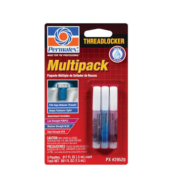 Multi-Pack Threadlocker