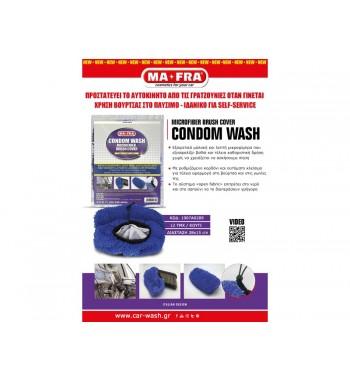 CONDOM WASH Κάλυμμα μικροϊνας για τις βούρτσες πλυσίματος